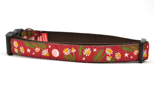 Chamomile Flower Dog Collars