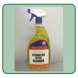 Orange-Sol Industrial Strength Stainless Steel Cleaner