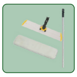 "Micro-Floor Duster 18"" Microfiber Floor Duster Tool (Includes: 1 Frame, 1 Handle & 1 Pad)"
