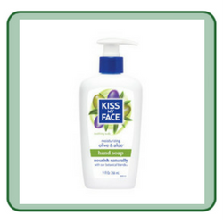 Olive And Aloe: Kiss My Face Moisturizing Hand Soap