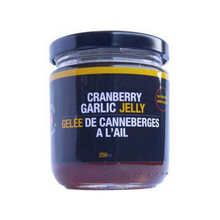 Cranberry Garlic Jelly - 250 ml - In Stock while quantities last (Seasonal product)