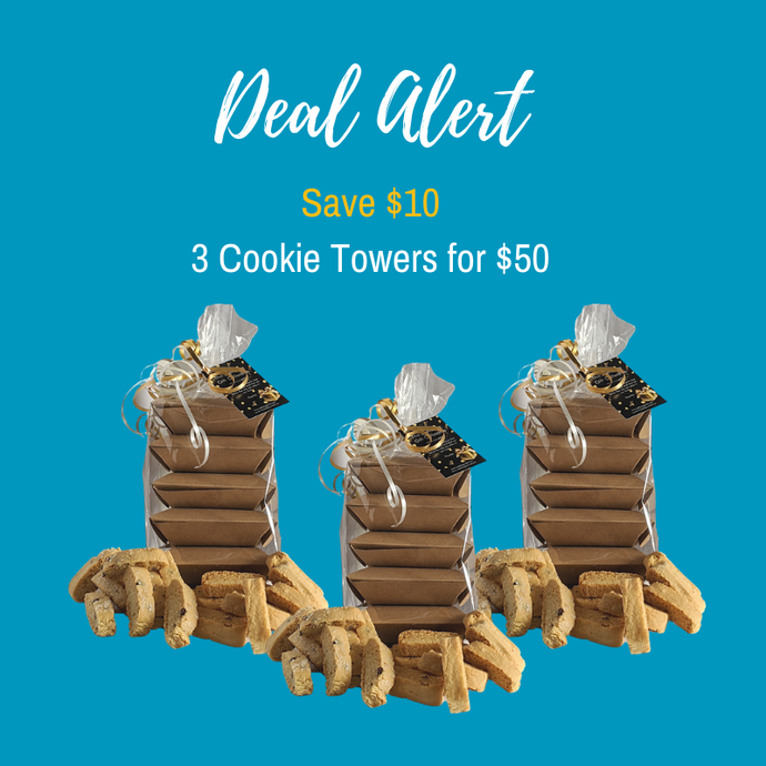 3 Cookie Lovers Towers