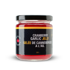 Cranberry Garlic Jelly - 250 ml - Out of Stock while quantities last (Seasonal product)