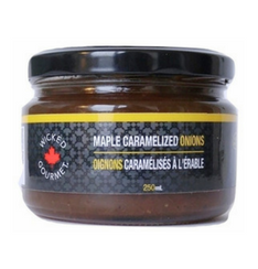 NEW - Maple Caramelized Onions - 250 ml