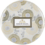 Nissho-Soleil 3 Wick Tin Candle