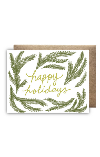 """Happy Holidays"" Card"