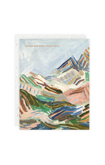 """Mountainscapes"" Card"