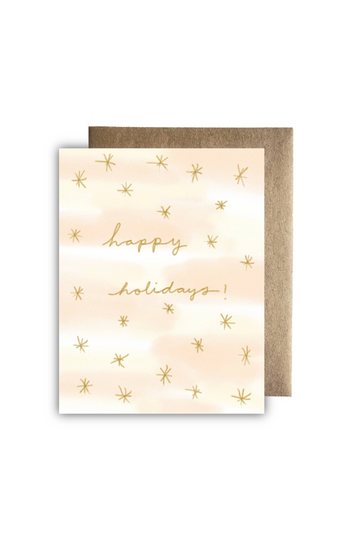 """Starry Holidays"" Card"