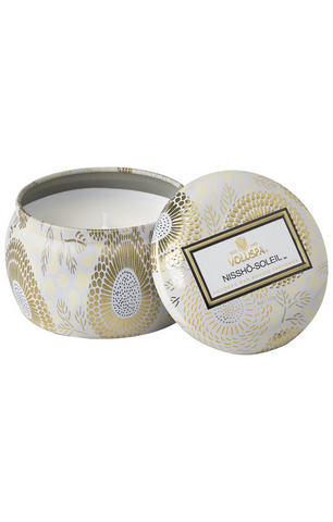 Nissho-Soleil Petite Tin Candle