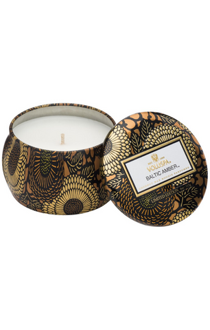 Baltic Amber Petite Tin Candle
