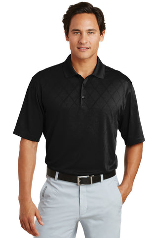 Nike Golf - Dri-FIT Cross-Over Texture Polo.  349899