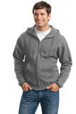 JERZEES® Super Sweats® NuBlend® - Full-Zip Hooded Sweatshirt.  4999M