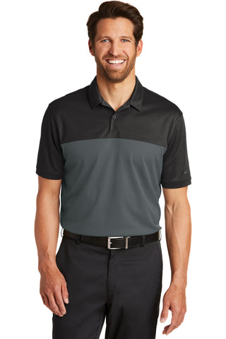 Nike Golf Dri-FIT Colorblock Micro Pique Polo. 881655
