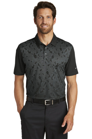 Nike Golf Dri-FIT Mobility Camo Polo. 881658
