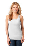 Anvil® Ladies 100% Combed Ring Spun Cotton Tank Top. 882L