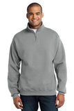 JERZEES® - NuBlend® 1/4-Zip Cadet Collar Sweatshirt. 995M
