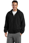 Sport-Tek® Tall Hooded Raglan Jacket. TJST73