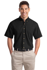 Port Authority® Short Sleeve Twill Shirt. S500T