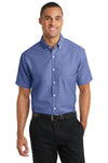 Port Authority® Short Sleeve SuperPro™ Oxford Shirt. S659