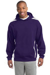 Sport-Tek® Sleeve Stripe Pullover Hooded Sweatshirt. ST265.