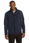 Sport-Tek® Colorblock Soft Shell Jacket. ST970