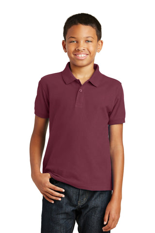 Port Authority® Youth Core Classic Pique Polo. Y100