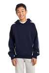Sport-Tek® Youth Sleeve Stripe Pullover Hooded Sweatshirt. YST265