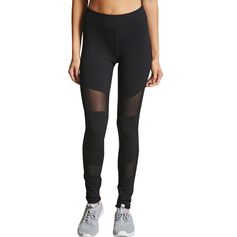 93bed624c7bb1 Woman Sports Leggings Yoga Pants Patchwork Ladies Fitness Running Gym  Exercise Trousers mujer gimnasio #E0