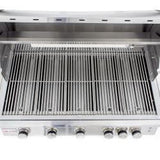 "40"" Blaze LTE 5 Burner Freestanding Grill With Lights-Free Shipping"