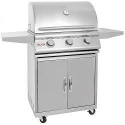 "25"" Blaze 3 Burner Freestanding Grill-Free Shipping"