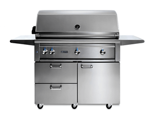 "42"" Lynx Freestanding Grill With All Sear Burners & Rotisserie/Free Shipping"
