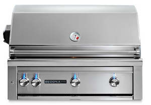 "42"" Sedona Built-In Grill With 3 Stainless Steel Burners & Rotisserie/Free Shipping"