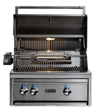 "30"" Lynx Built-In Grill With 2 Ceramic Burners & Rotisserie-Free Shipping"