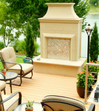AFD Cordoba Outdoor Vented Fireplace-Free Shipping