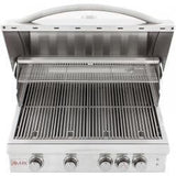 "32"" Blaze LTE 4 Burner Freestanding Grill With Lights-Free Shipping"