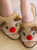 Reindeer Games Holiday Slippers