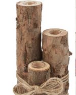 Bark and Birch Test Tube Vase - Wild Magnolia