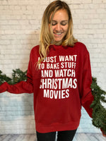 Christmas Graphic Sweatshirt