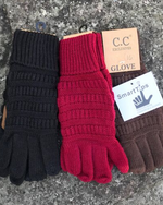 CC Ribbed Gloves