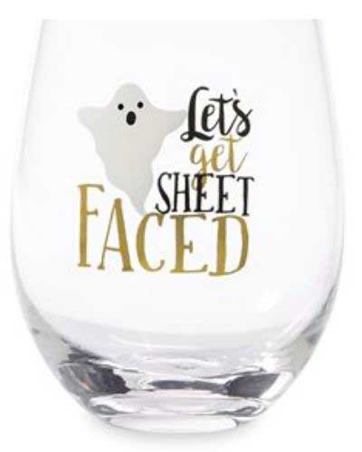 STEMLESS HALLOWEEN WINE GLASSES