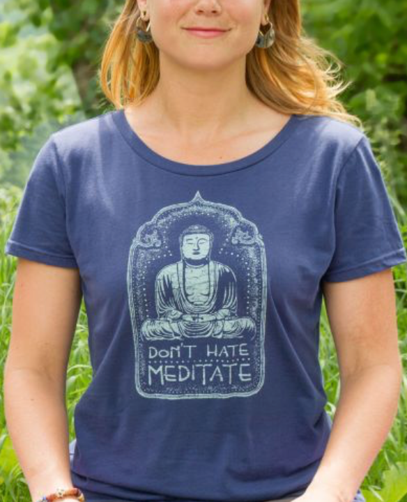 Don't Hate Meditate Shirt