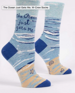Sarcastic and Funny Crew Socks