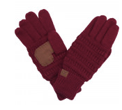 CC Ribbed Gloves - Wild Magnolia