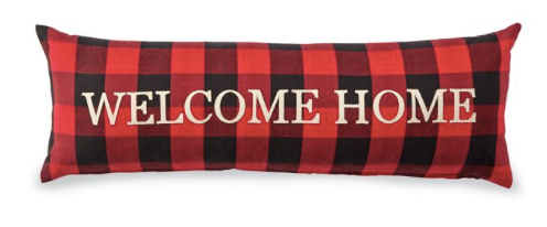 Buffalo Check Welcome Home Pillow