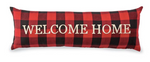 Buffalo Check Welcome Home Pillow - Wild Magnolia