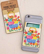 Phone Pocket Ring - Wild Magnolia