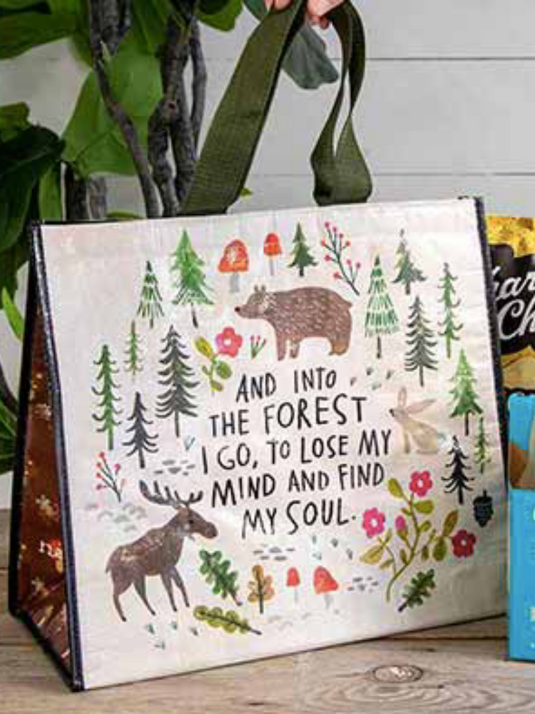 Into The Forest Insulated Tote Bag