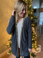Stay Gold Sequin Cardigan