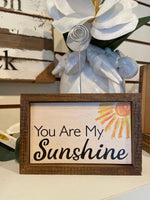 Sunshine Picture Frame Box