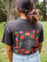 And the World Slowed Down Boho Tee - Wild Magnolia